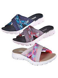 On The Go Cross Band Slides By Skechers®