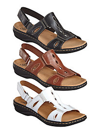 Leisa Lakelyn Leather Sandals By Clarks®
