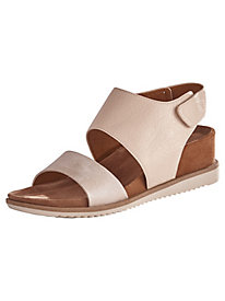 Quarter Strap Leather Sandals From Comfortiva®