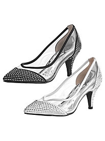 Delux Style Lucite Pumps by Annie®