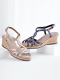 Ryanne Wedge Sandals By Easy Street®