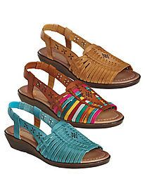 Leather Sandals From Comfortiva® By Softspots®