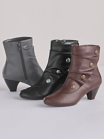Gilnora Pleated Boots By Soft Style®