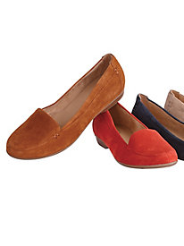 Saban Classic Suede Loafers By Naturalizer®