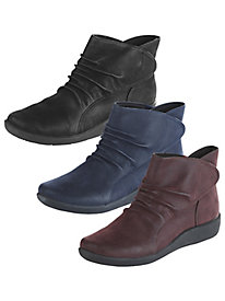 Sillian Sway Scrunch Ankle Boots By Cloudsteppers®