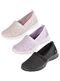 EZ Flex 3.0 Eyelet Slip-Ons By Skechers®