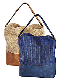 Jute Hobo Bag by Old Pueblo Traders