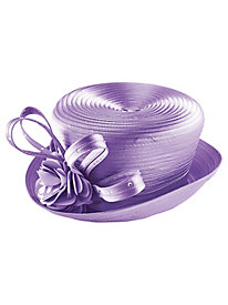 Satin Pleated Hat
