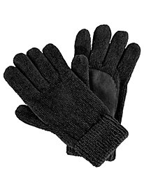 Isotoner� Solid Chenille Gloves