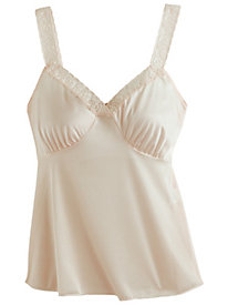 Lace-Trim Stretch Camisole