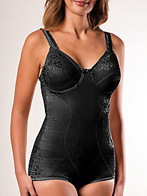 Printed Firm Support Body Briefer by Cortland®