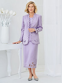 Studio B Elegant Cutwork Three-Piece Suit by Old Pueblo Traders