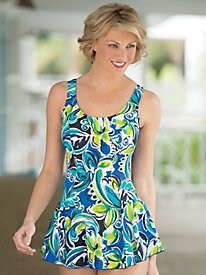 Flirty Floral Swimdress