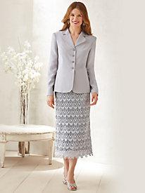 Lace Skirt Suit