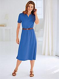 Knit Polo Dress By Koret®
