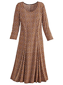 Print Knit Dress