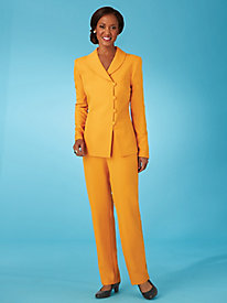 Shawl Collar Pants Suit by Old Pueblo Traders