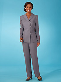 Shawl Collar Pants Suit