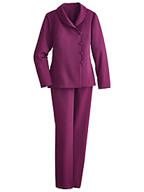 Shawl Collar Pants Suit