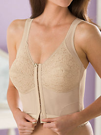 Longline Back-Support Bra by Body Naturals®