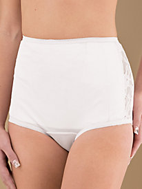Tricot-Lace Panty From Instant Shaping® Plusform®