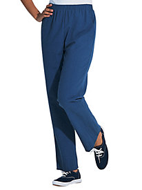 Vicki Wayne® Crinkled-Cloth Pants