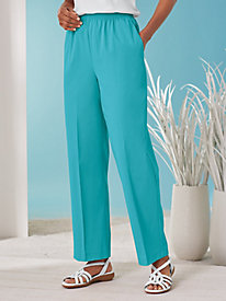 Stretch Twill Pants by Alfred Dunner®