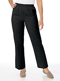 Stretch Twill Pants by Alfred Dunner