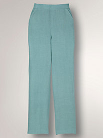 Linen-Look Pant by BendOver®
