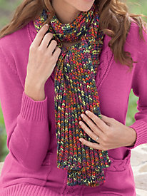 A Pop of Color Scarf