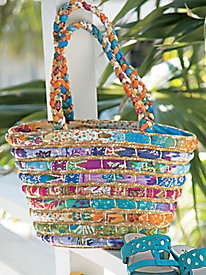 Colorful Carry All Tote