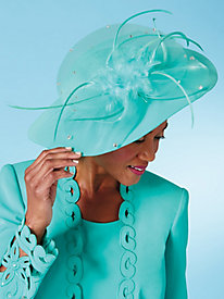 Studio B Elegant Cutwork Hat