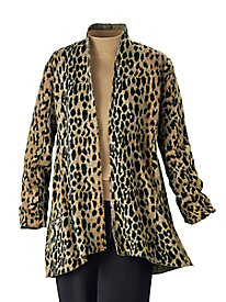 Wild-For-Style Boiled-Wool Jacket