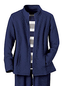 Knit Zip Jacket