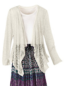 Whisper Lace Cardigan