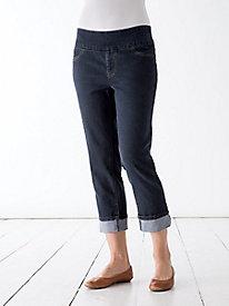 Slim-Sation Cropped Boyfriend Jeans