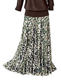 Shadow Leaf Skirt