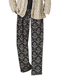 Medallion Print Pants