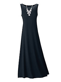 Sleeveless Piazza Maxi Dress