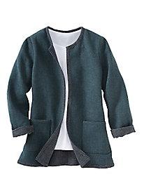 Reversible Wool Jacket...