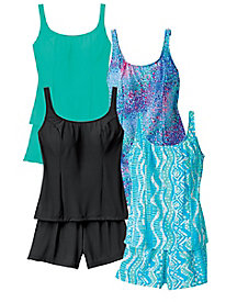 Tankini By Sea Waves�