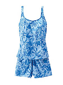 Tankini By Sea Waves
