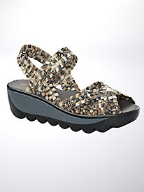Bernie Mev Fame Wave Wedges