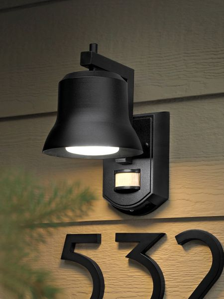battery operated led outdoor motion sensor light solutions. Black Bedroom Furniture Sets. Home Design Ideas