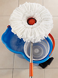 Cyclonic Spin Mop with Bucket