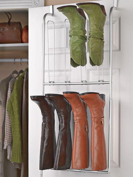 Over The Door Boot Organizer Boot Hanger Shoe Holder