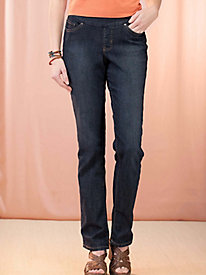 Women's Jag Pull-On Straight-Leg Jeans