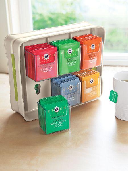 slim tea organizer