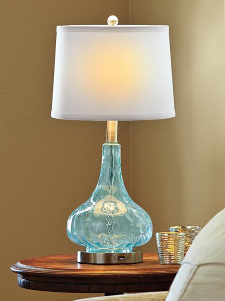 blue rely a light lamp table lamp with usb port solutions. Black Bedroom Furniture Sets. Home Design Ideas