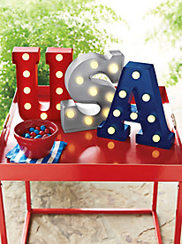 USA Marquee Letters